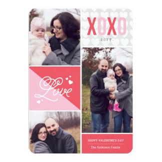 Love and Hugs Photo Valentine Card