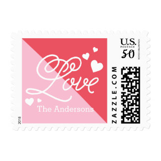 Love and Hugs Postage