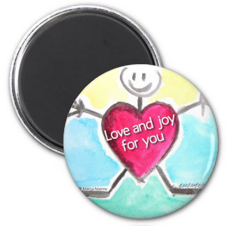 love and joy for you magnet