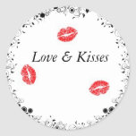 Love and Kisses Sticker
