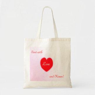 Love and Kisses!  Tote Bag