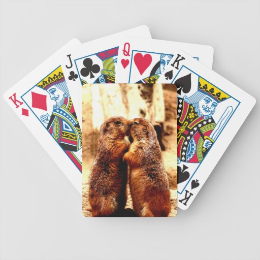 Love and Kissing  Prairie Dog Poker Cards