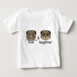 Love and laughter expression baby T-Shirt