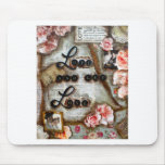 LOVE AND LET LOVE MOUSE PADS