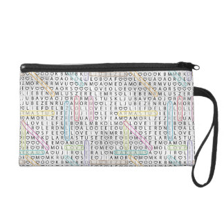 Love and Letters Baguette Bag