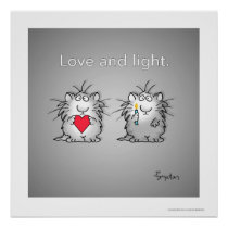 Love and Light by Sandra Boynton Poster