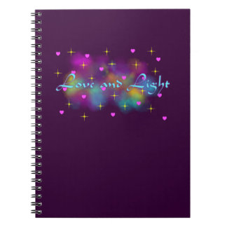 Love and light notebook