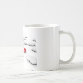 Love and Many Hearts Classic White Coffee Mug