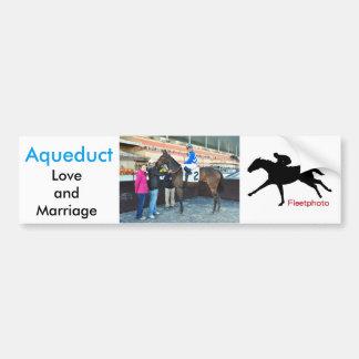 Love and Marriage Bumper Sticker