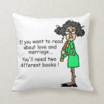 Love and Marriage Humor Pillows