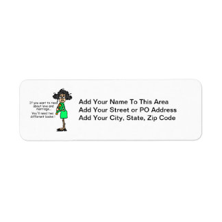 Love and Marriage Humor Return Address Label