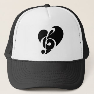 Love and Music Trucker Hat