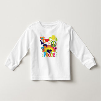 Love and Peace Baby Shirt
