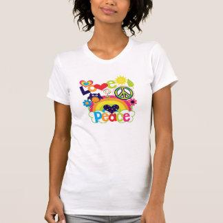 Love and Peace Baby Tee Shirt