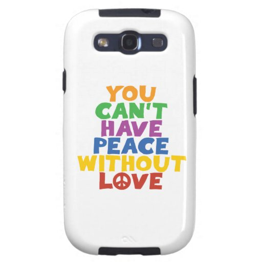Love and Peace Galaxy SIII Covers