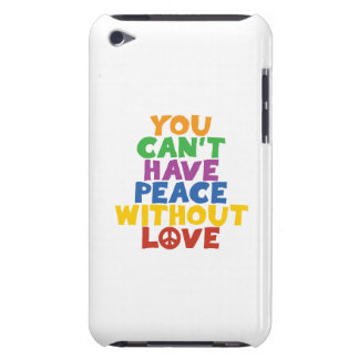 Love and Peace iPod Touch Case-Mate Case