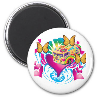 Love And Peace Magnet