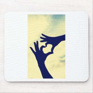 Love and Peace Mouse Pad
