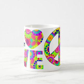 love and peace coffee mugs
