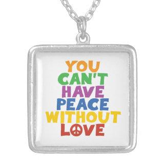 Love and Peace Pendants