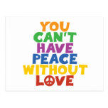 Love and Peace Postcard