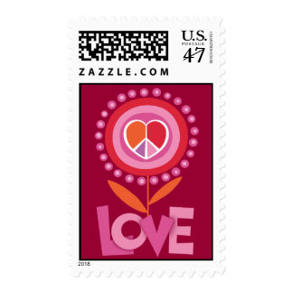 LOVE and PEACE Stamp