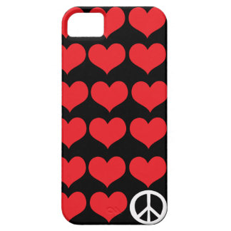Love and peace  Style Case-Mate iPhone 5 Case