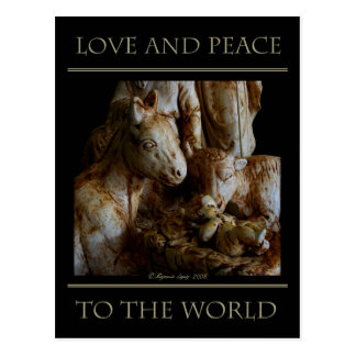 Love and Peace to the World Postcard