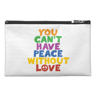 Love and Peace Travel Accessories Bag