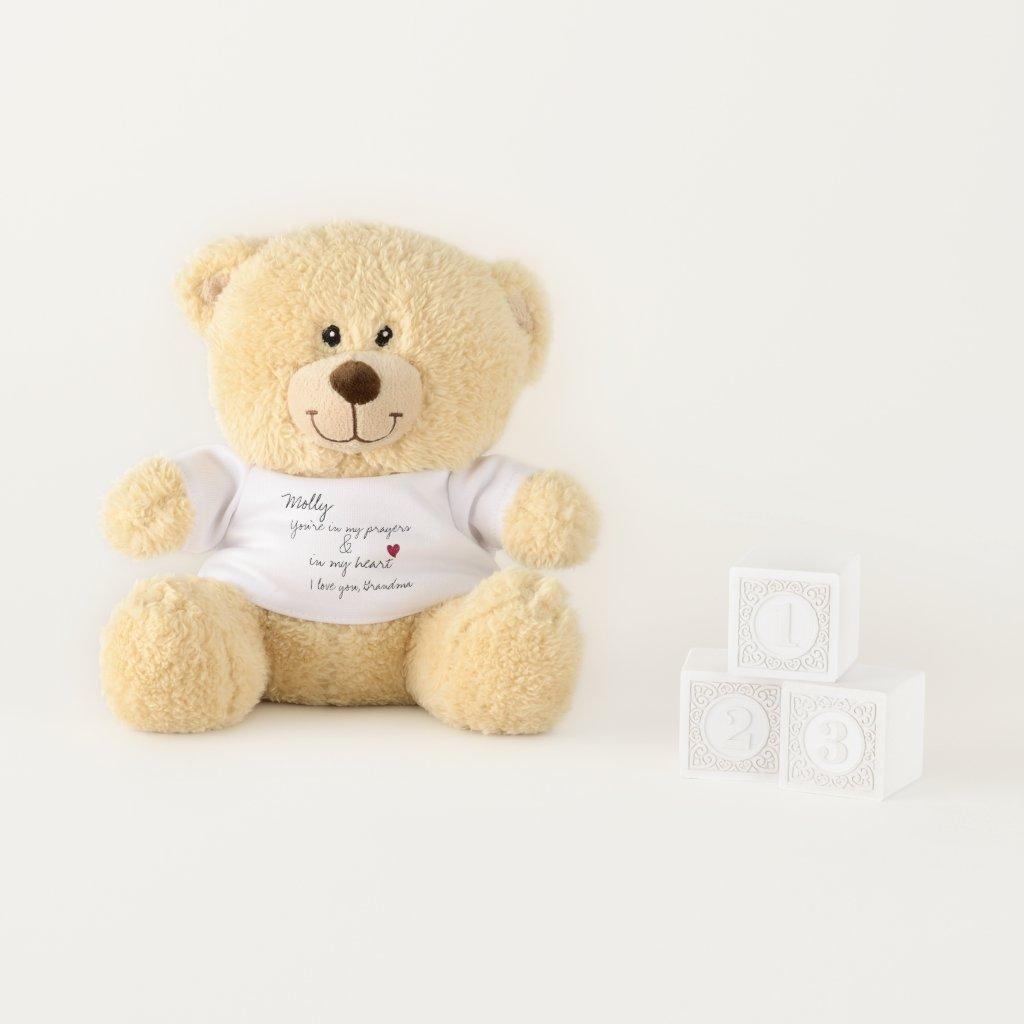 Love and Prayers Teddy Bear
