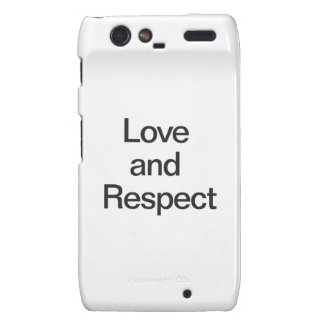 Love and Respect Droid RAZR Cover