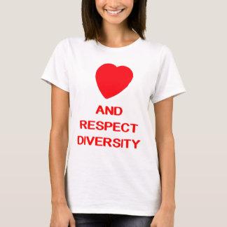 LOVE AND RESPECT DIVERSITY Women's Basic T-Shirt