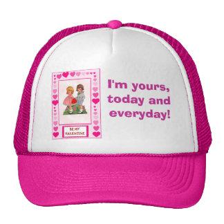 Love and romance, be my Vanentine Trucker Hat