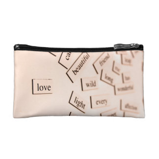 Love and Romance Cosmetic Bag