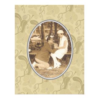 Love and romance custom flyer
