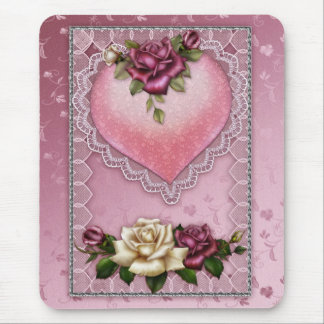 Love and romance mousepad valentine's day