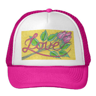 Love and Roses Hat