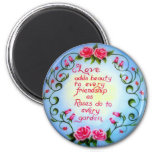 Love and Roses Magnets
