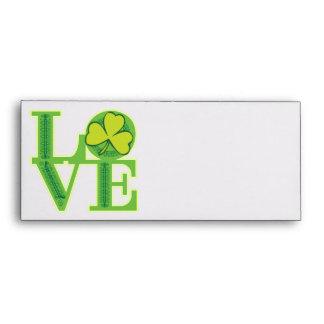 Love and Shamrocks Envelopes