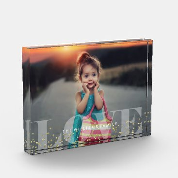 heartlocked Love and Sparkles Photo Block