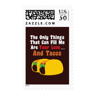 Love and Tacos Postage