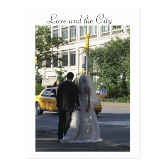 Love and The City NYC Postacard Postcard