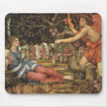 Love and the Maiden by Stanhope, Victorian Angel Mouse Pad
