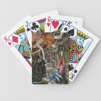Love and the Maiden (oil on canvas) Bicycle Playing Cards