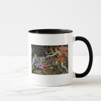 Love and the Maiden (oil on canvas) Mug