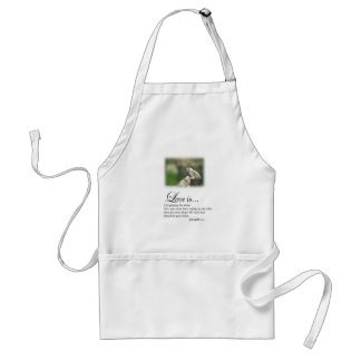 Love and the Piano Adult Apron