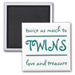 Love and Treasure Fridge Magnet