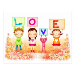 LOVE AND VALENTINE DESIGNS POSTCARD