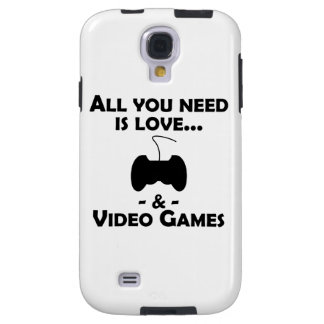 Love And Video Games Galaxy S4 Case