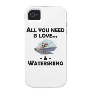 Love And Waterskiing iPhone 4 Covers